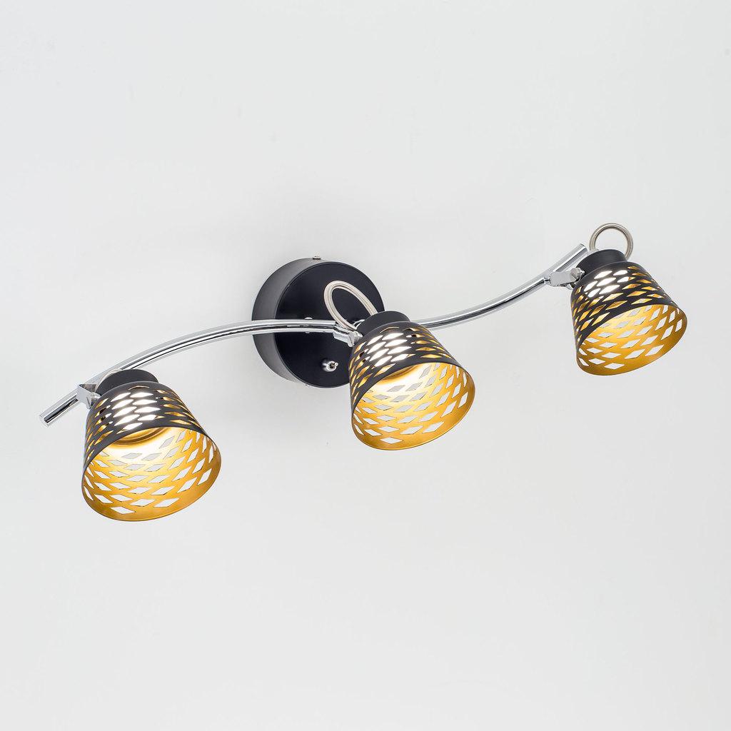 Настенный светодиодный светильник с регулировкой направления света Citilux Орегон CL508532, LED 15W 3000K 1125lm, черный, металл - фото 1