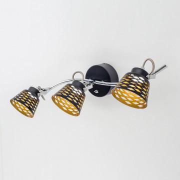 Настенный светодиодный светильник с регулировкой направления света Citilux Орегон CL508532, LED 15W 3000K 1125lm, черный, металл - миниатюра 2