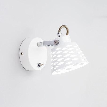 Настенный светодиодный светильник с регулировкой направления света Citilux Орегон CL508510, LED 5W 3000K 375lm, белый, металл