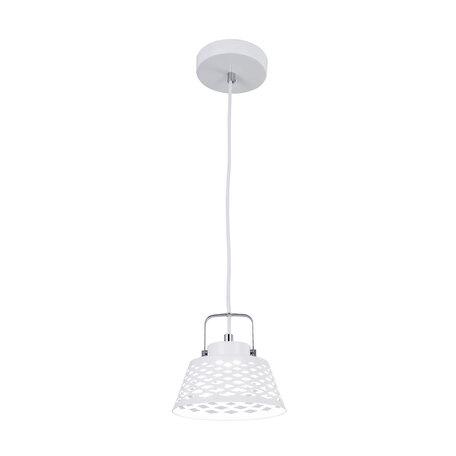 Подвесной светодиодный светильник с регулировкой направления света Citilux Орегон CL508110, LED 7W 3000K 525lm, белый, металл