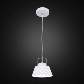 Подвесной светодиодный светильник с регулировкой направления света Citilux Орегон CL508110, LED 7W 3000K 525lm, белый, металл - миниатюра 2