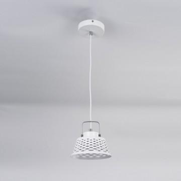 Подвесной светодиодный светильник с регулировкой направления света Citilux Орегон CL508110, LED 7W 3000K 525lm, белый, металл - миниатюра 3