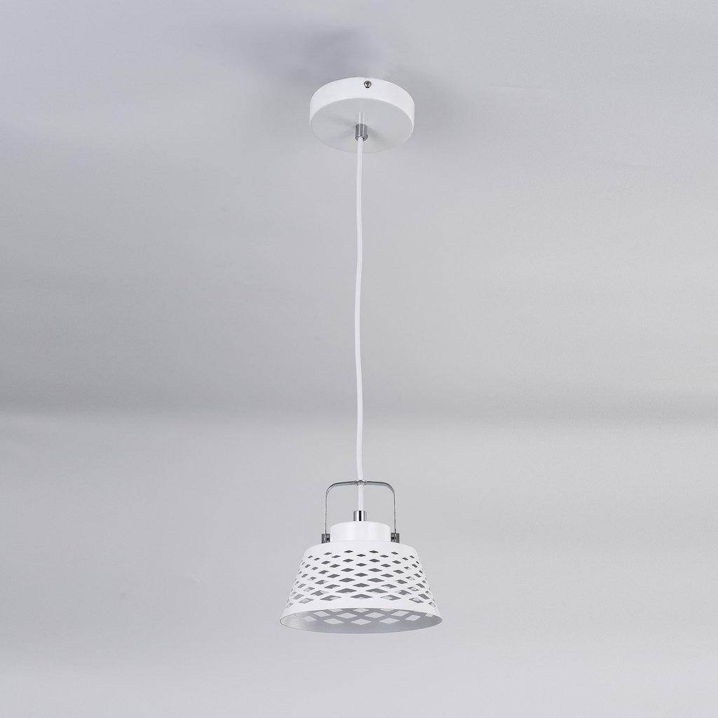 Подвесной светодиодный светильник с регулировкой направления света Citilux Орегон CL508110, LED 7W 3000K 525lm, белый, металл - фото 3