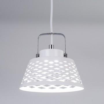 Подвесной светодиодный светильник с регулировкой направления света Citilux Орегон CL508110, LED 7W 3000K 525lm, белый, металл - миниатюра 4