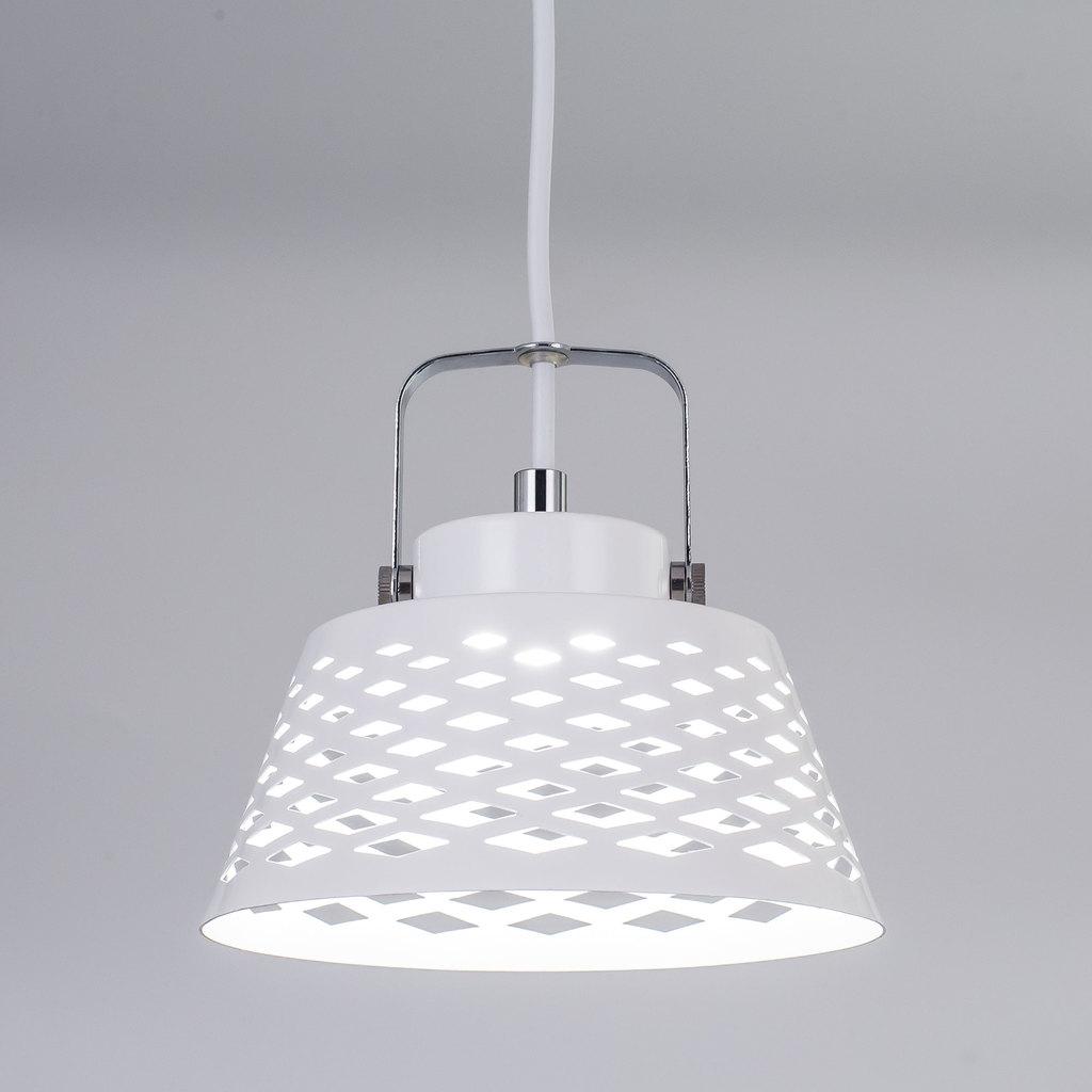 Подвесной светодиодный светильник с регулировкой направления света Citilux Орегон CL508110, LED 7W 3000K 525lm, белый, металл - фото 4