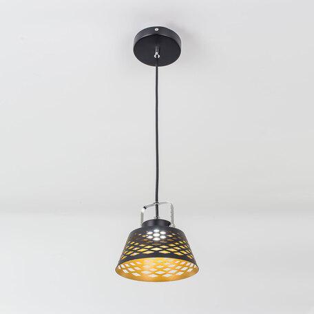 Подвесной светодиодный светильник с регулировкой направления света Citilux Орегон CL508112, LED 7W 3000K 525lm, черный, металл - миниатюра 1