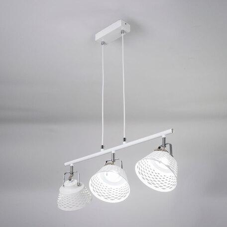 Подвесной светодиодный светильник с регулировкой направления света Citilux Орегон CL508130, LED 21W 3000K 1575lm, белый, металл
