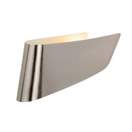 Настенный светильник Lucide Ola 12203/01/12, 1xE14x11W, матовый хром, металл