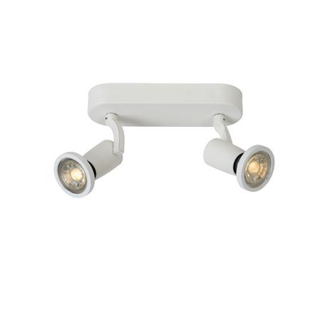 Потолочный светильник с регулировкой направления света Lucide Jaster-LED 11903/10/31, 2xGU10x5W, белый, металл