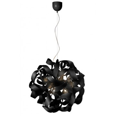 Подвесная люстра Lucide Atoma 13408/48/30, 12xG9x48W, черный, металл