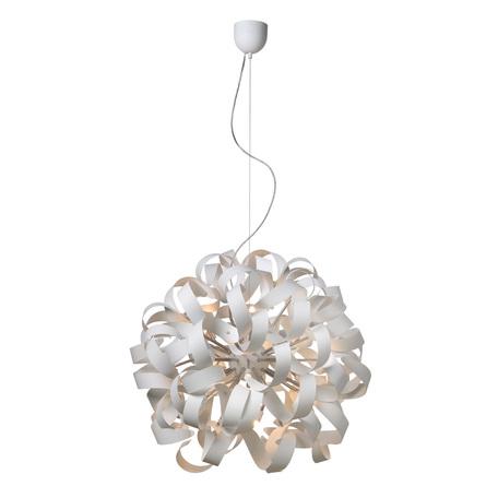 Подвесная люстра Lucide Atoma 13409/12/31, 12xG9x33W, белый, металл