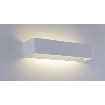 Настенный светодиодный светильник Crystal Lux CLT 010W420 WH 1400/402, LED 11W 4000K 1096lm, белый, металл