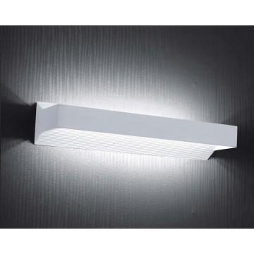 Настенный светодиодный светильник Crystal Lux CLT 326W530 1400/418, LED 18W, 4000K (дневной), белый, металл