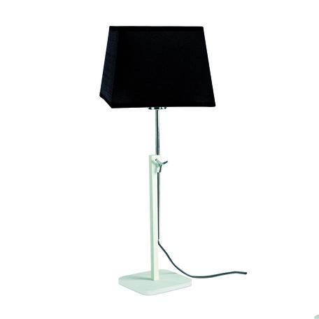 Настольная лампа Mantra Habana 5320+5325, белый, черный, металл, текстиль