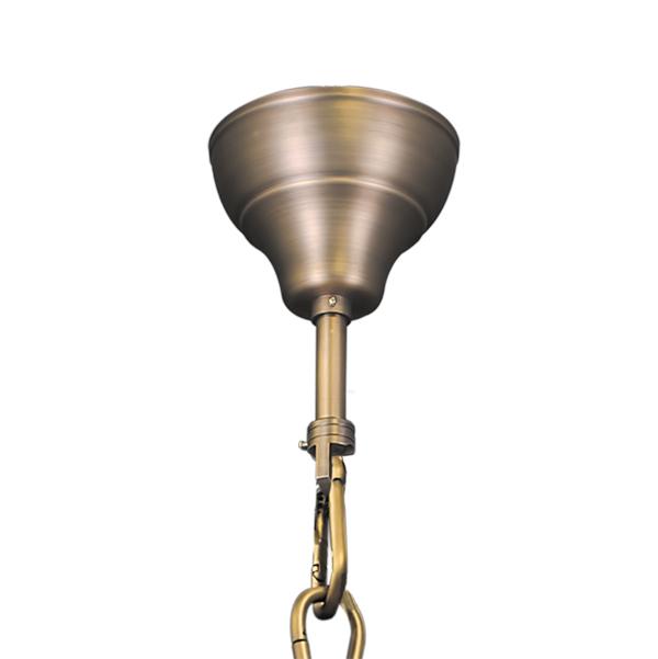 Подвесная люстра Lightstar Osgona Classic 700511, 51xE14x60W, бронза, прозрачный, хрусталь - фото 2