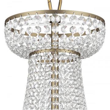 Подвесная люстра Lightstar Osgona Classic 700511, 51xE14x60W, бронза, прозрачный, хрусталь - миниатюра 3