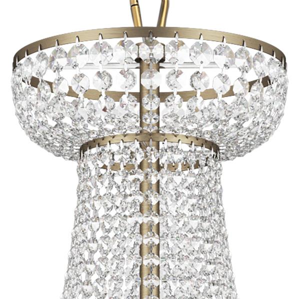 Подвесная люстра Lightstar Osgona Classic 700511, 51xE14x60W, бронза, прозрачный, хрусталь - фото 3