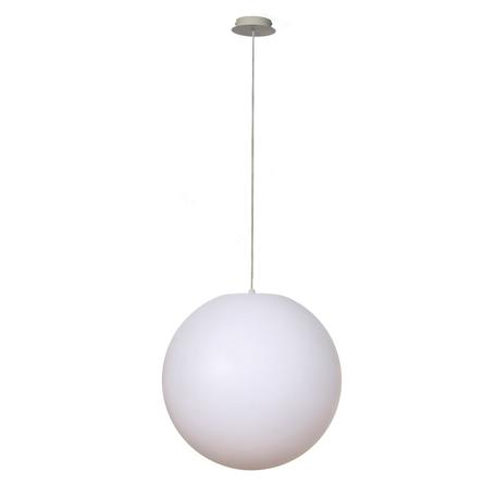 Подвесной светильник Mantra Ortos 1399, IP44, белый, металл, пластик