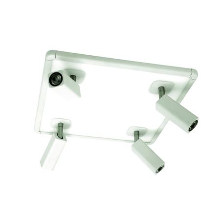 Потолочная люстра с регулировкой направления света Mantra Ibiza 5251, белый, металл, пластик - миниатюра 1