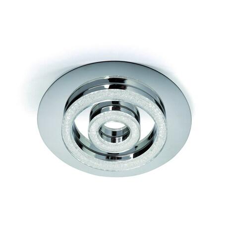 Потолочный светильник Mantra Diamante 5115, хром, матовый, металл, пластик