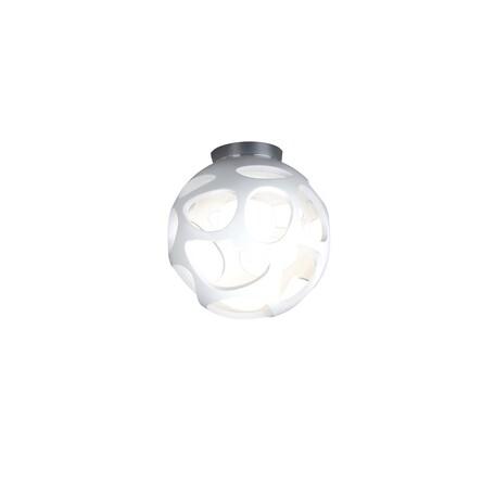 Потолочный светильник Mantra Organica 5143, хром, белый, металл, пластик