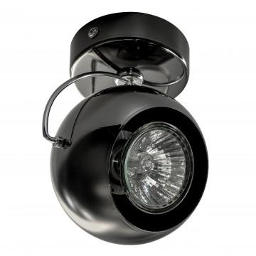 Потолочный светильник с регулировкой направления света Lightstar Fabi 110588, 1xGU10x50W, черный, металл