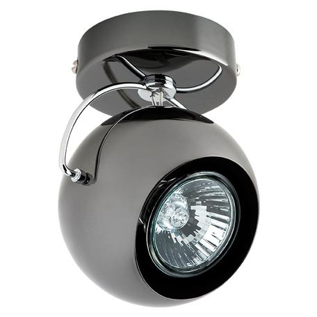 Потолочный светильник с регулировкой направления света Lightstar Fabi 110588, 1xGU10x50W, черный, металл - миниатюра 1