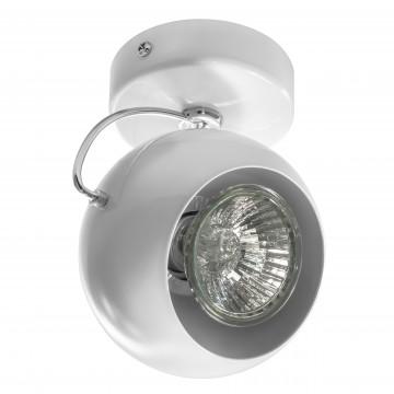 Потолочный светильник с регулировкой направления света Lightstar Fabi 110566, 1xGU10x50W, белый, металл