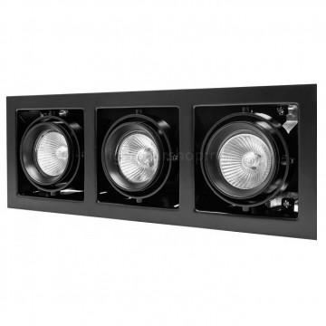 Встраиваемый светильник Lightstar Cardano 214038, 3xGU5.3x50W