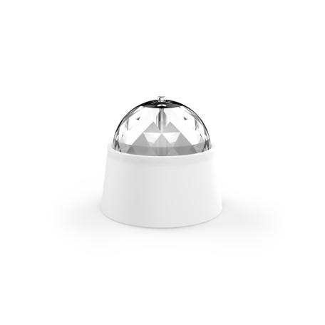 Настольная светодиодная лампа-ночник Gauss DIY0011, LED 4W RGB, белый, прозрачный, пластик