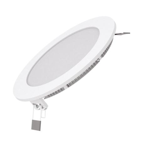 Светодиодная панель Gauss Слим 939111309, LED 9W 6500K 750lm CRI80, белый, металл с пластиком
