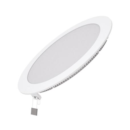 Светодиодная панель Gauss Слим 939111318, LED 18W 6500K 1560lm CRI80, белый, металл с пластиком
