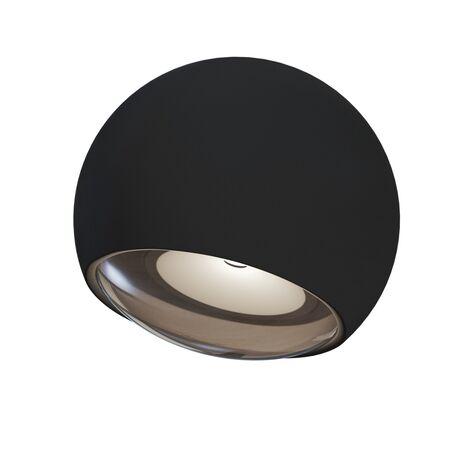 Настенный светильник Maytoni O032WL-L3B3K, IP54, черный, металл