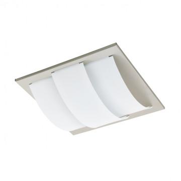 Потолочный светодиодный светильник Eglo Aranda 96549, никель, белый, металл, пластик