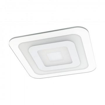 Потолочный светодиодный светильник Eglo Reducta 1 97086, LED 24W 3000lm, белый, прозрачный, металл, пластик
