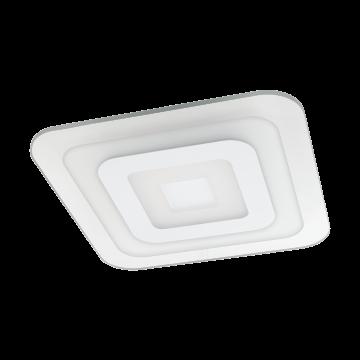 Потолочный светодиодный светильник Eglo Reducta 1 97086, LED 24W, белый, прозрачный, металл, пластик