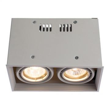 Потолочный светильник Arte Lamp Cardani Piccolo A5942PL-2WH, 2xGU10x50W