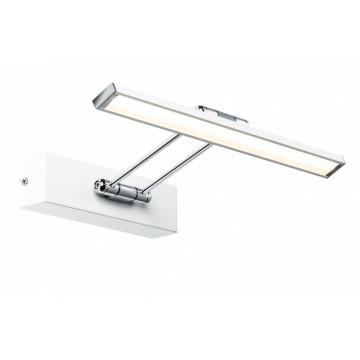 Настенный светодиодный светильник для подсветки картин Paulmann Galeria LED  Beam thirty 99891, LED 5W, белый, хром, металл