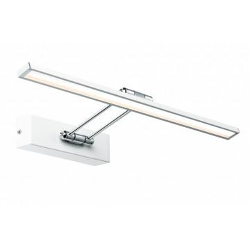 Настенный светодиодный светильник для подсветки картин Paulmann Galeria LED  Beam fifty 99892, LED 7W, белый, хром, металл