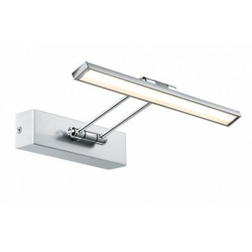 Настенный светодиодный светильник для подсветки картин Paulmann Galeria LED  Beam thirty 99894, LED 5W, никель, металл