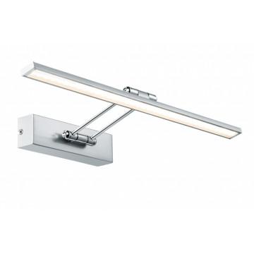 Настенный светодиодный светильник для подсветки картин Paulmann Galeria LED  Beam fifty 99895, LED 7W, никель, металл