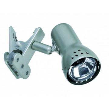 Светильник на прищепке Paulmann Assistent Gryps 99825, 1xE14x40W, алюминий, пластик, металл