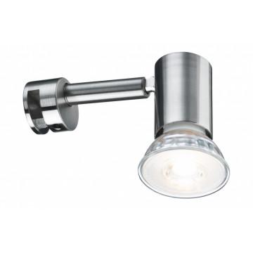 Мебельный светильник Paulmann Mirror Simplo LED 99905, 1xGU10x5,3W, матовый хром, металл