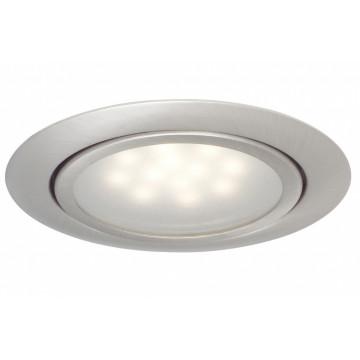 Встраиваемый мебельный светодиодный светильник Paulmann Micro Line LED 99812, LED 1W, матовый хром, металл