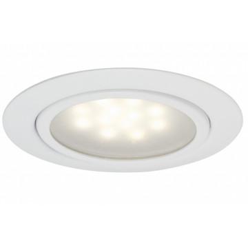 Встраиваемый мебельный светодиодный светильник Paulmann Micro Line LED 99815, LED 1W, белый, металл