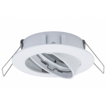 Встраиваемый светодиодный светильник Paulmann 2Easy Spot-Set Premium 99742, IP23, LED 7W, белый, металл