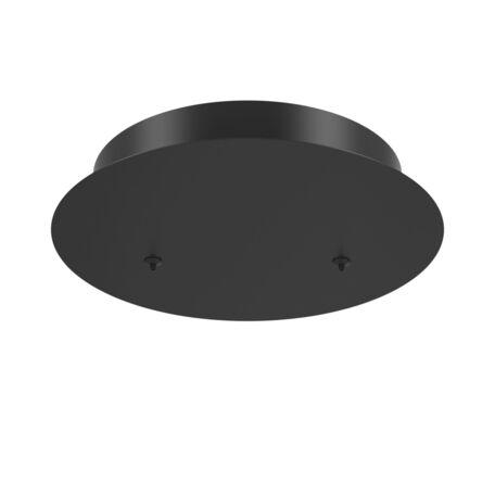 Крепление для подвесного светильника Maytoni Rim MOD058A-02B, черный, металл