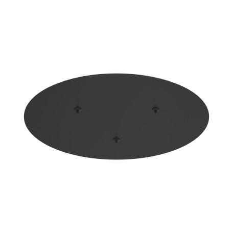Крепление для подвесного светильника Maytoni Rim MOD058A-03B, черный, металл