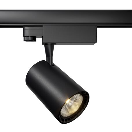 Светодиодный светильник Maytoni Vuoro TR029-3-10W4K-B, LED 10W 4000K 750lm CRI80, черный, металл