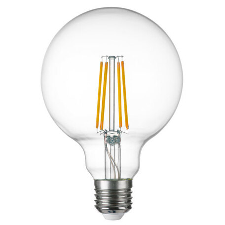 Филаментная светодиодная лампа Lightstar LED 933104 шар E27 8W, 4000K (дневной) 220V